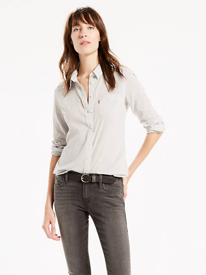 Tailored One Pocket Shirt