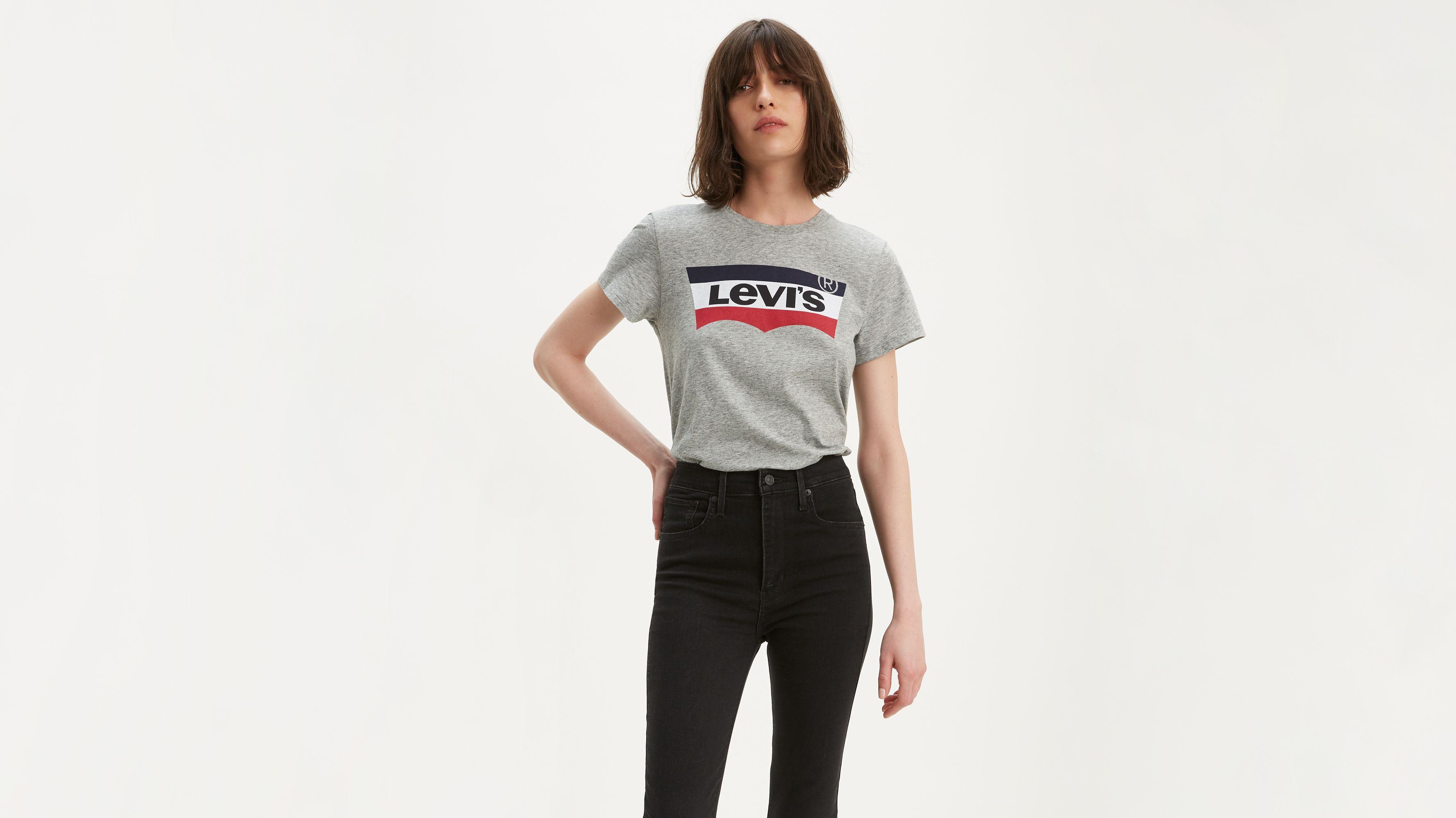 Levi's® Logo Colorblock Fill Tee Shirt