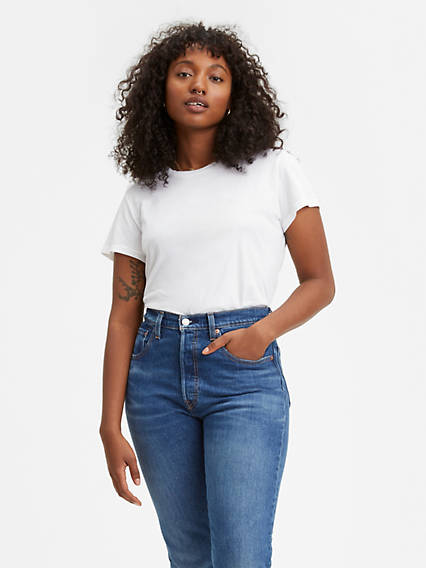 Women's Custom Blank Perfect Tee Shirt