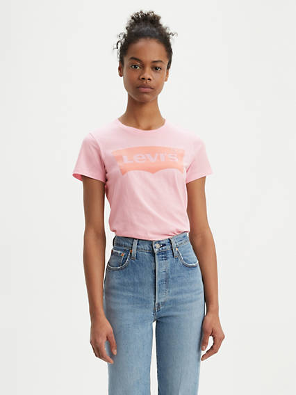 Levi's® Flocked Logo Tee Shirt