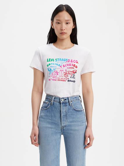 59f3b33fa463 Women's Shirts, Denim Blouses, Tank Tops & T-Shirts | Levi's® US