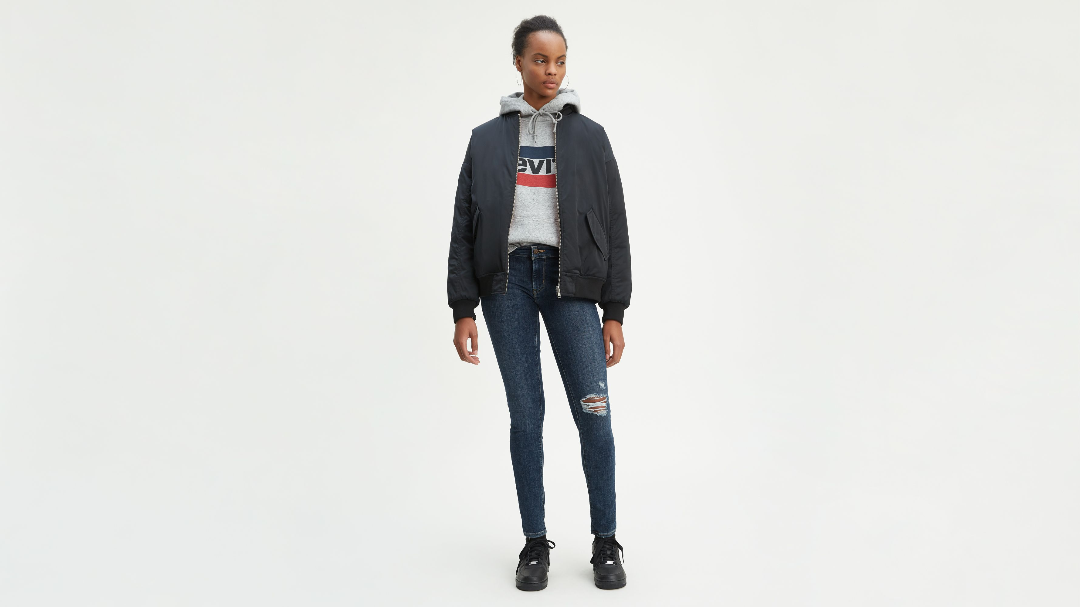 Women-Jeans-710 Super Skinny Jeans-Just Sayin