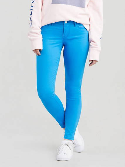 710 Super Skinny Sateen Jeans