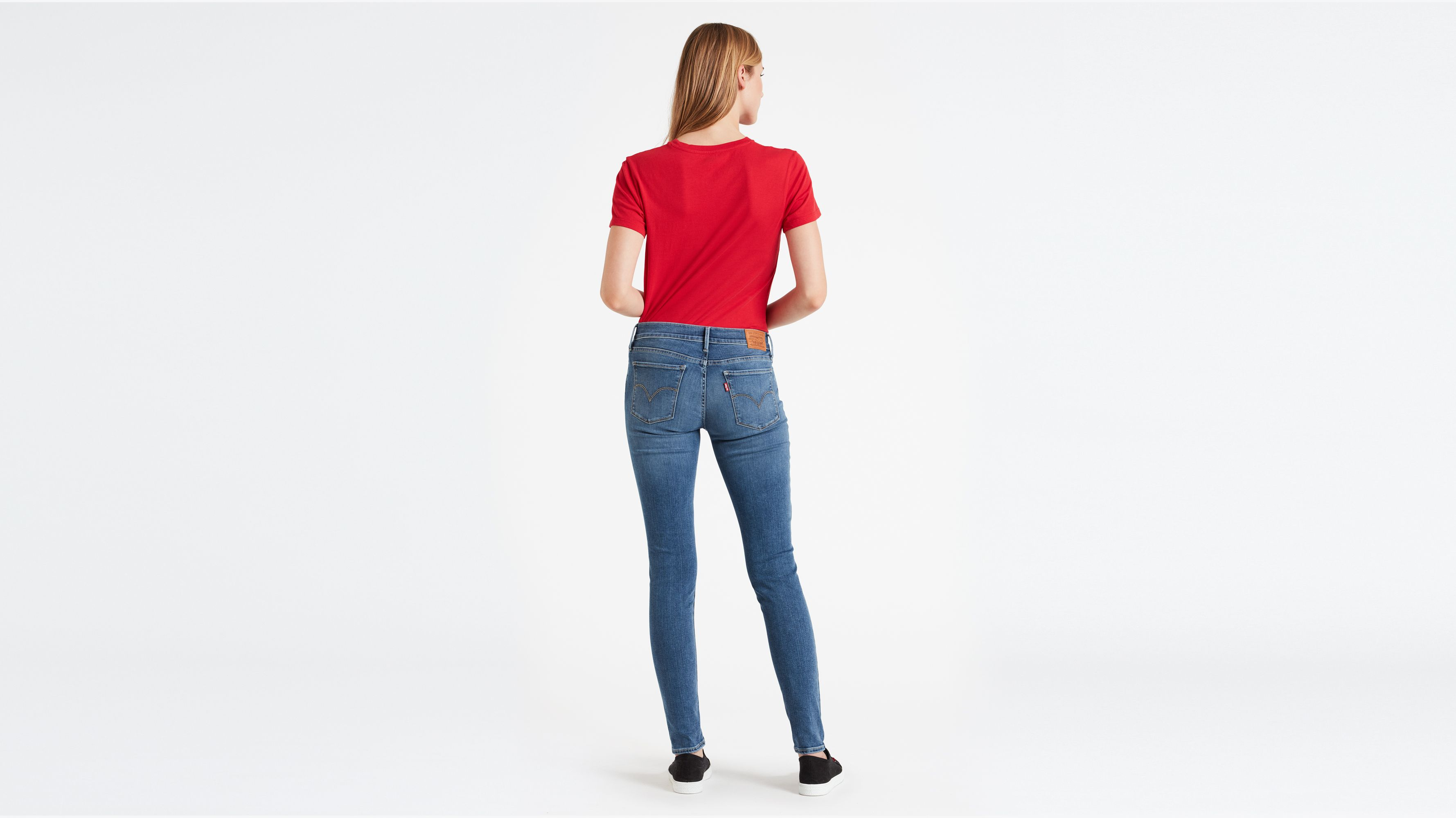 Damen Jeans Levis 710™ Innovation Super Skinny Jeans Celestial Rinse