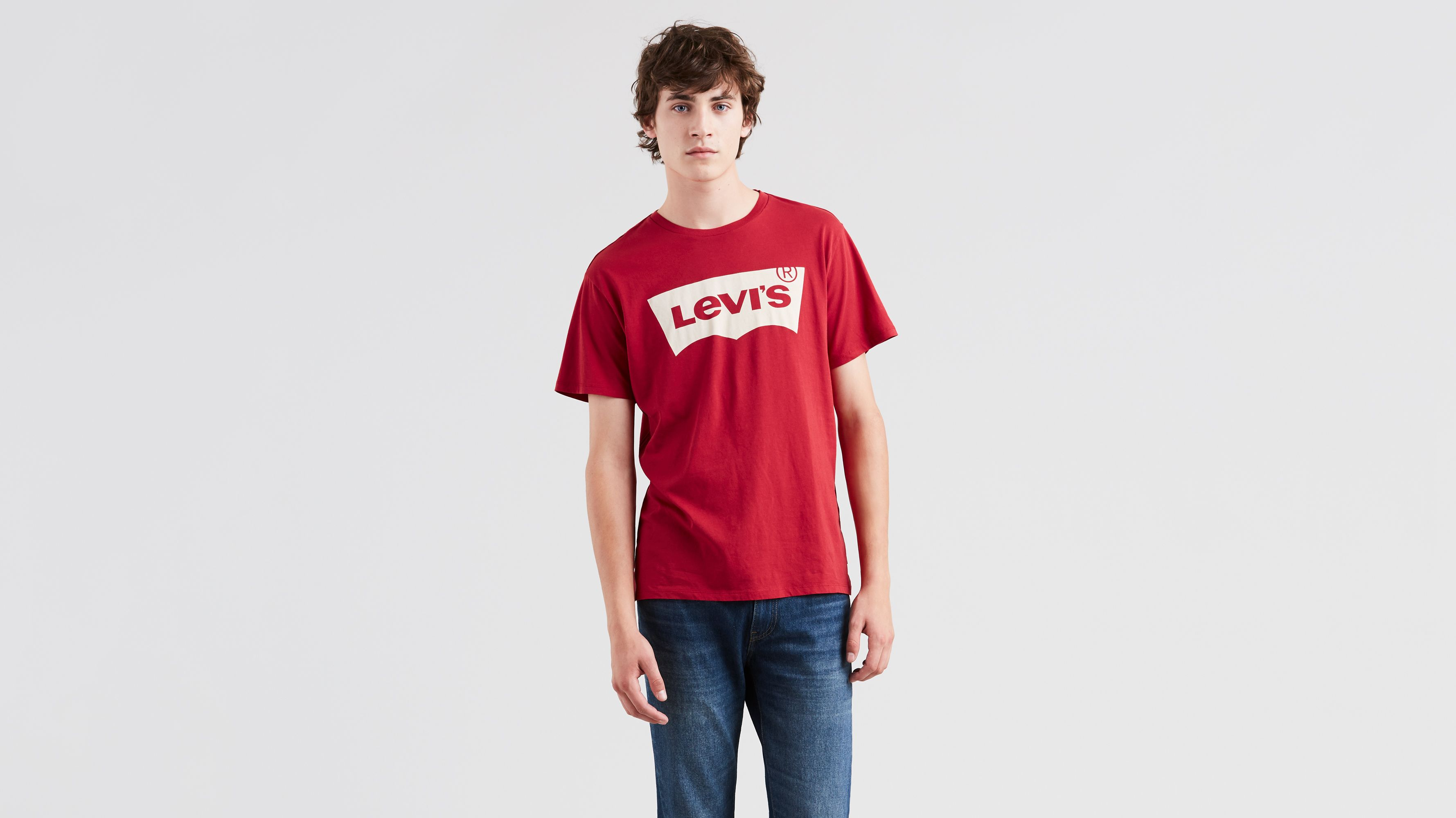 Levi's® Logo Classic Tee Shirt - Red | Levi'