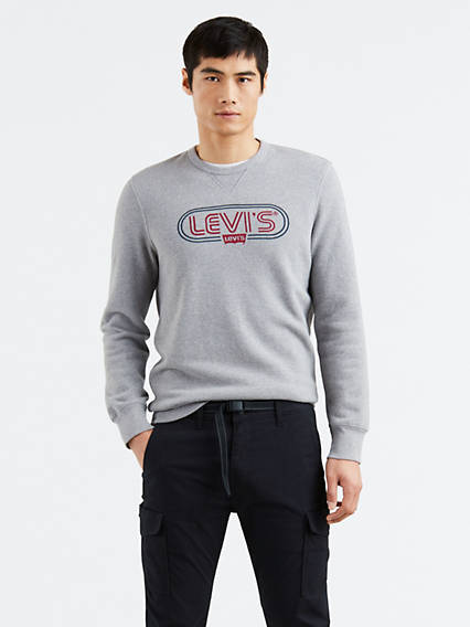 Graphic Crew B Sweatshirt