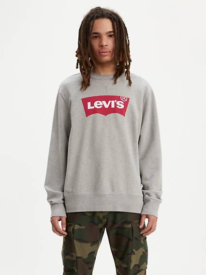 4b1449f2833 Graphic Crew Sweatshirt