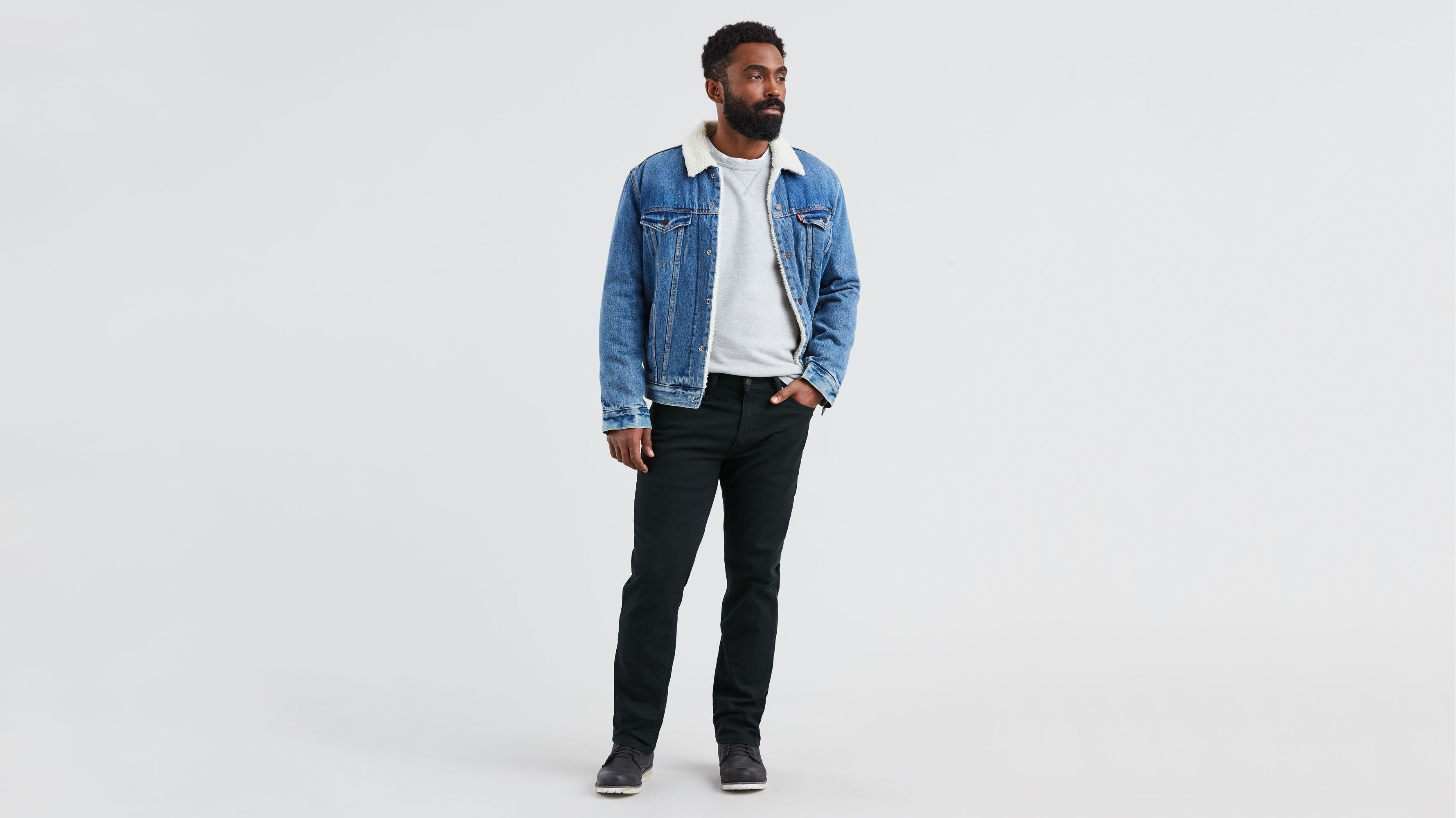 19c0aa8f7ac 541™ Athletic Taper Men's Jeans - Black   Levi's® US