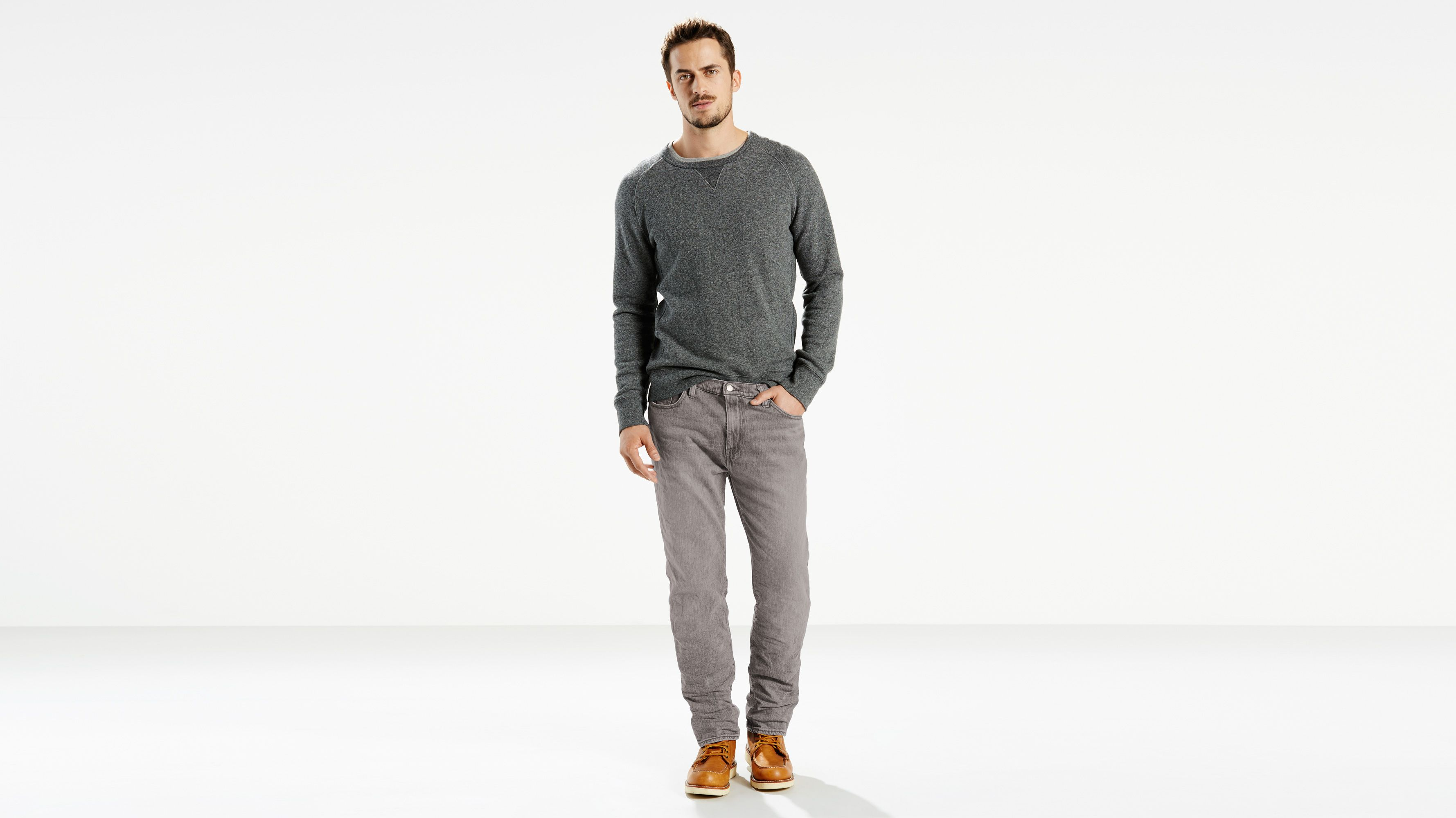 Men-Jeans-541™ Athletic Fit Jeans-Gated Grey