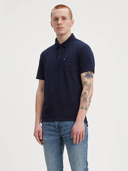 Short Sleeve Sunset Polo