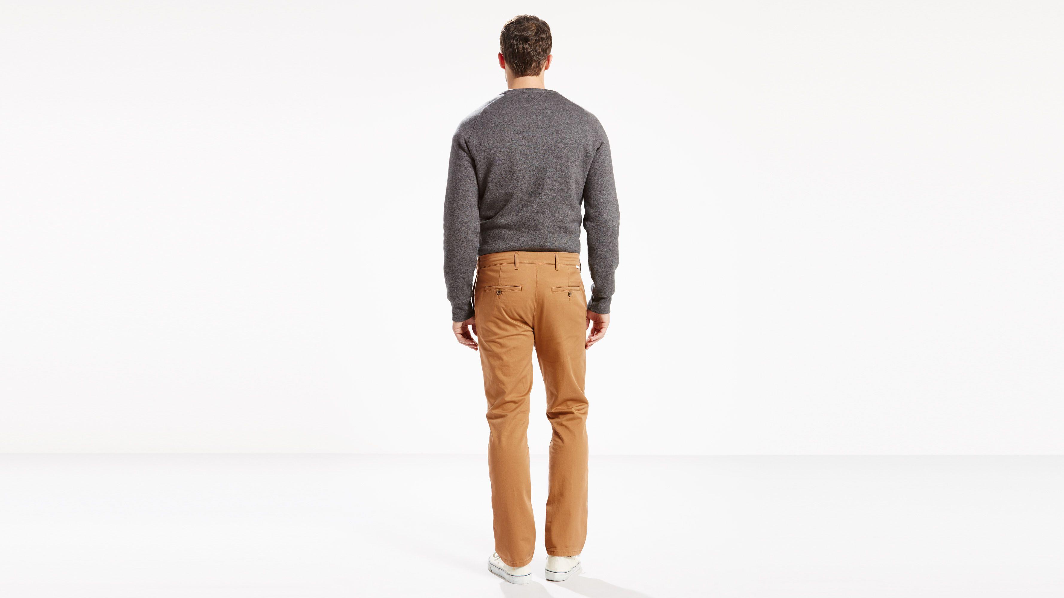 5c70c2a2 Straight Stretch Chino - Khaki   Levi's® US
