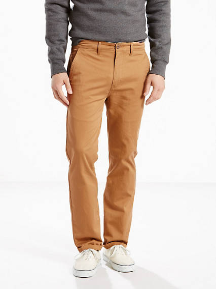 Straight Fit Stretch Chino