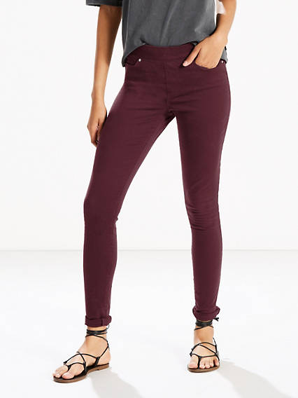 Pull-On Skinny Leggings