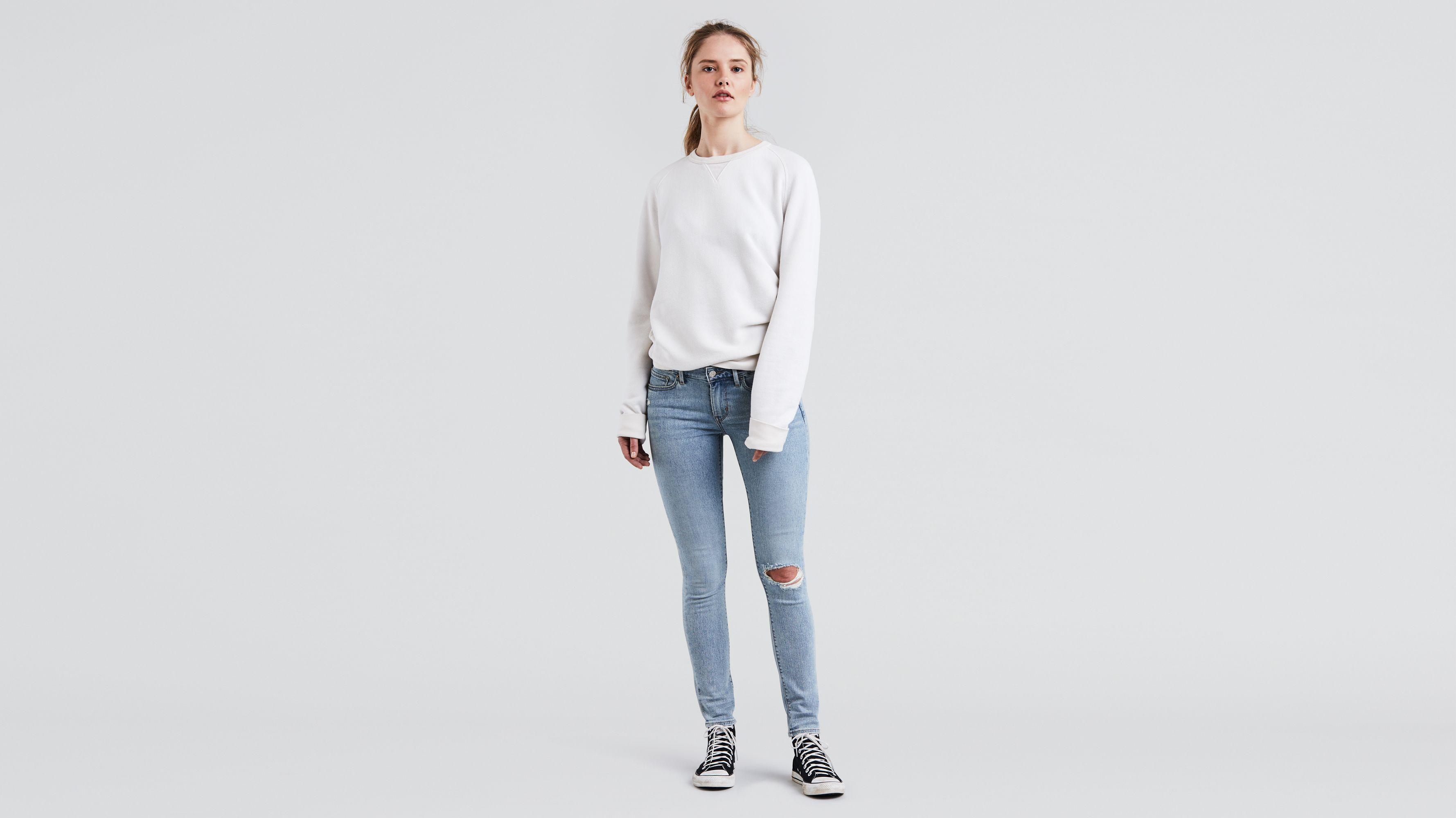 f7c8f42b 711 Skinny Jeans - Light Wash | Levi's® US