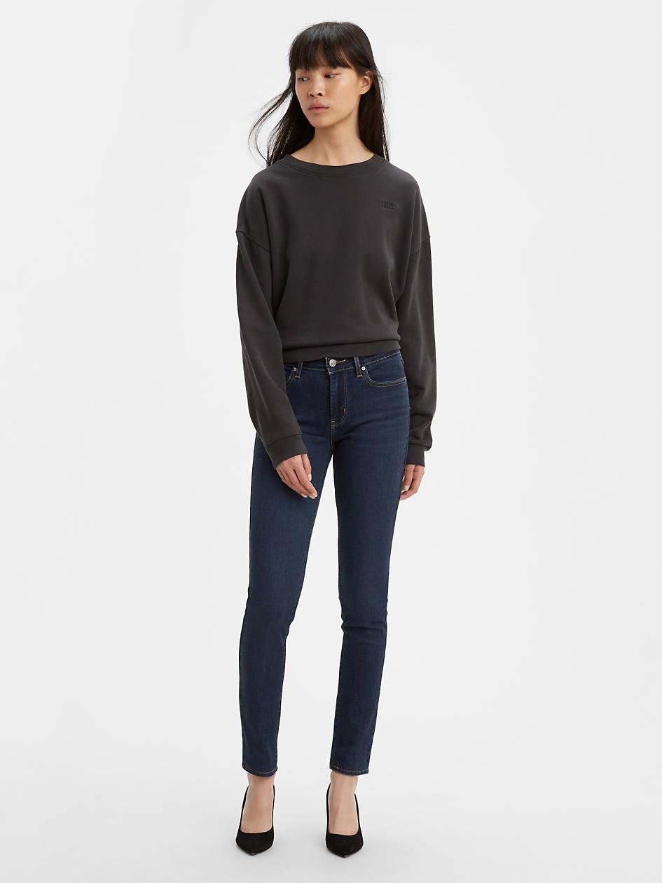 711 Skinny Women's Jeans - Dark Wash | Levi's® US
