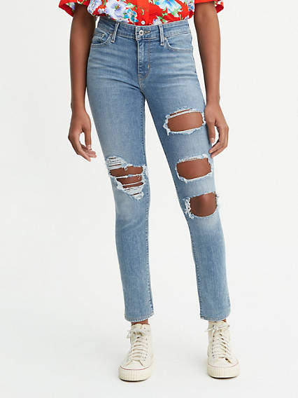 01a1a43c Ripped Jeans - Shop Distressed & Ripped Jeans for Women | Levi's® US