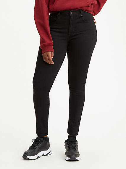 721™ High Rise Skinny Soft Black