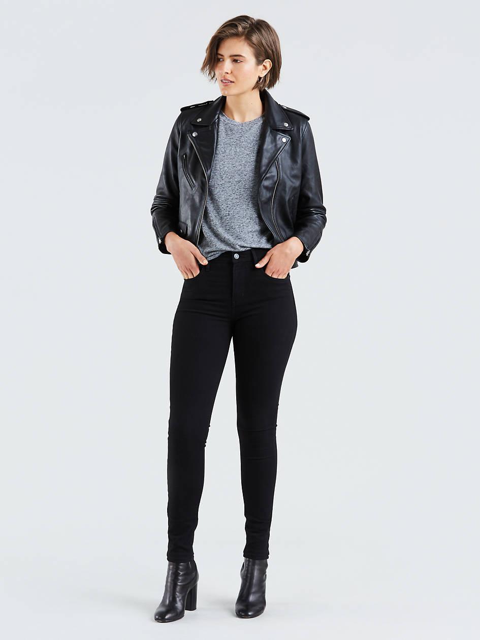 721 High Rise Skinny Women's Jeans - Black   Levi's® US