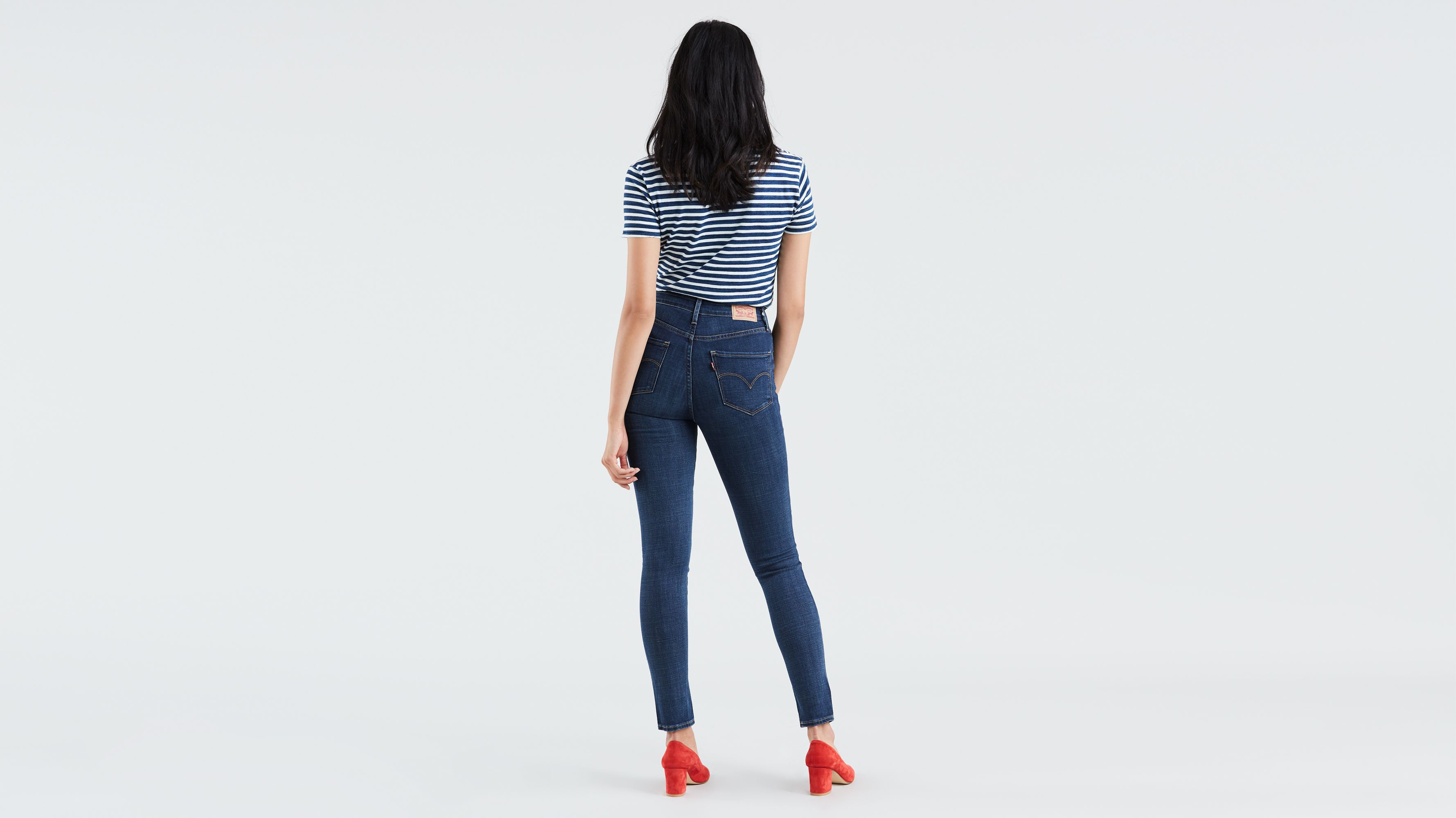 721 High Rise Skinny Women's Jeans Dark Wash | Levi's® US