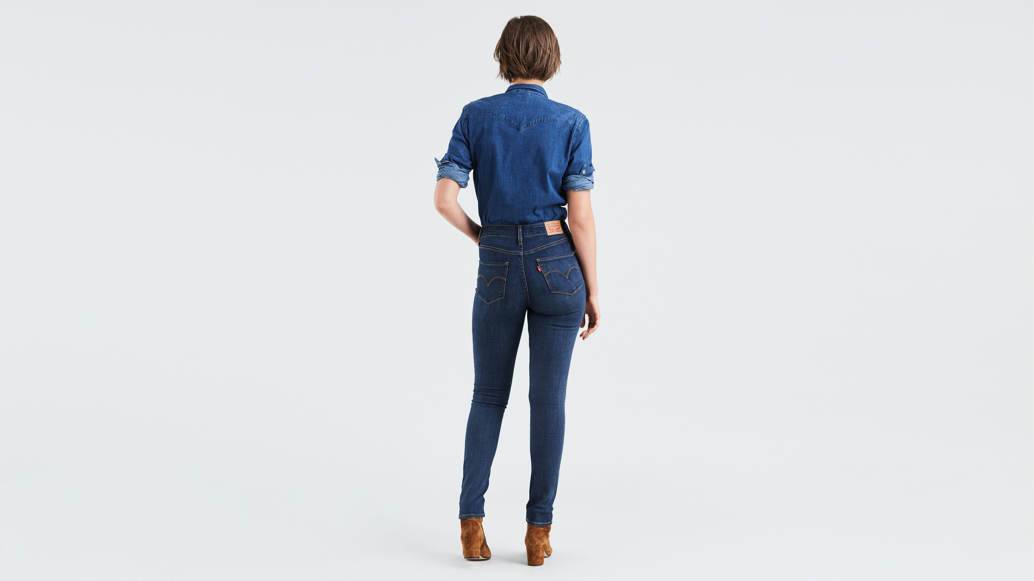94dd2ffe39 721 High Rise Skinny Jeans - Dark Wash | Levi's® US
