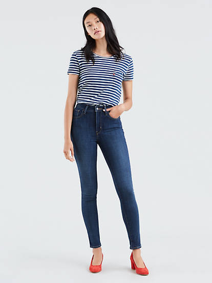 select for authentic modern design new lower prices 721 High Rise Skinny Women's Jeans - Dark Wash | Levi's® US
