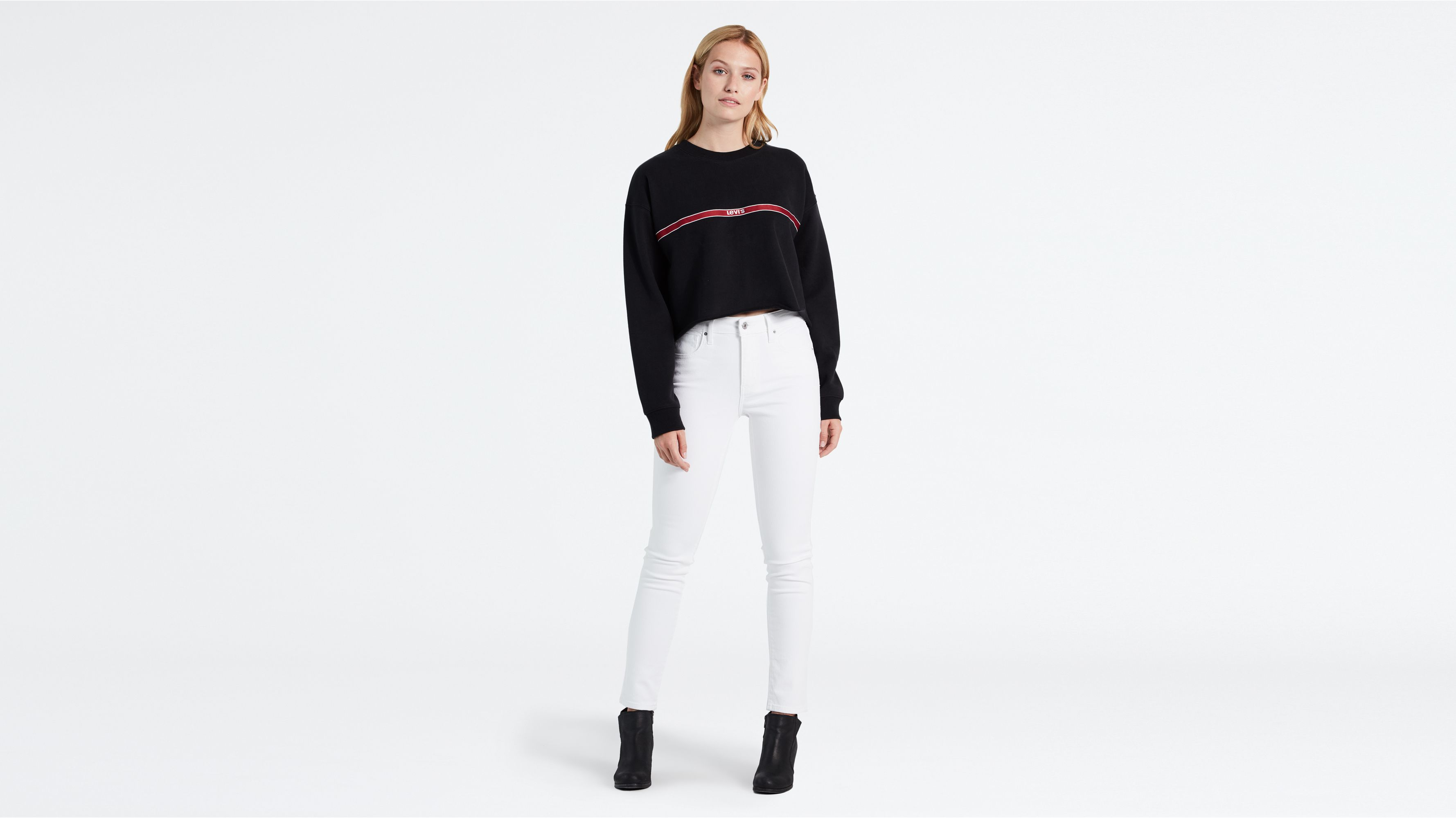 721™ High Waisted Skinny Jeans Helle Waschung Early Riser from Levi's on 21 Buttons