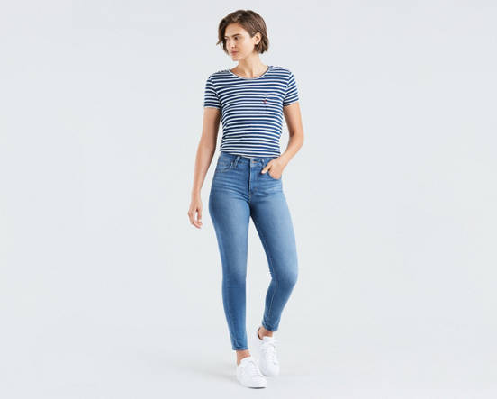 e267942d 721 High Rise Skinny Jeans - Medium Wash | Levi's® US