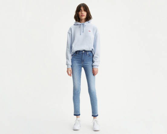 59391967 Use + and - keys to zoom in and out, arrow keys move the zoomed portion of  the image. Mouse over image for a closer look. 721 High Rise Skinny Jeans  ...