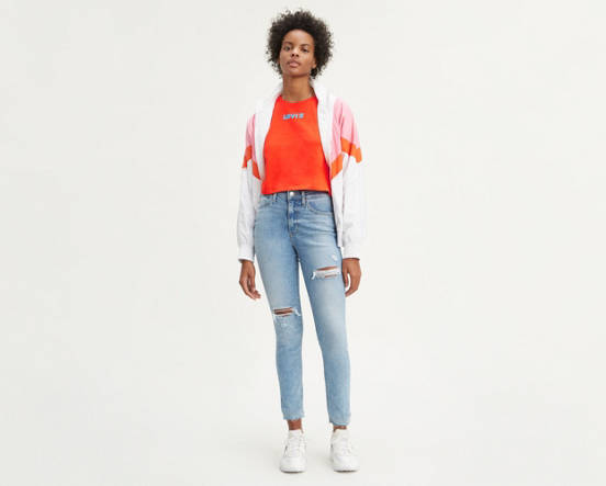 e76226f9f7 Use + and - keys to zoom in and out, arrow keys move the zoomed portion of  the image. Mouse over image for a closer look. 721 High Rise Ripped Skinny  Jeans ...