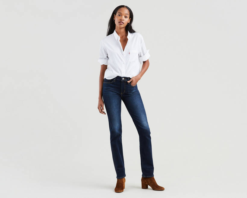 724 High Rise Straight Jeans by Levi's