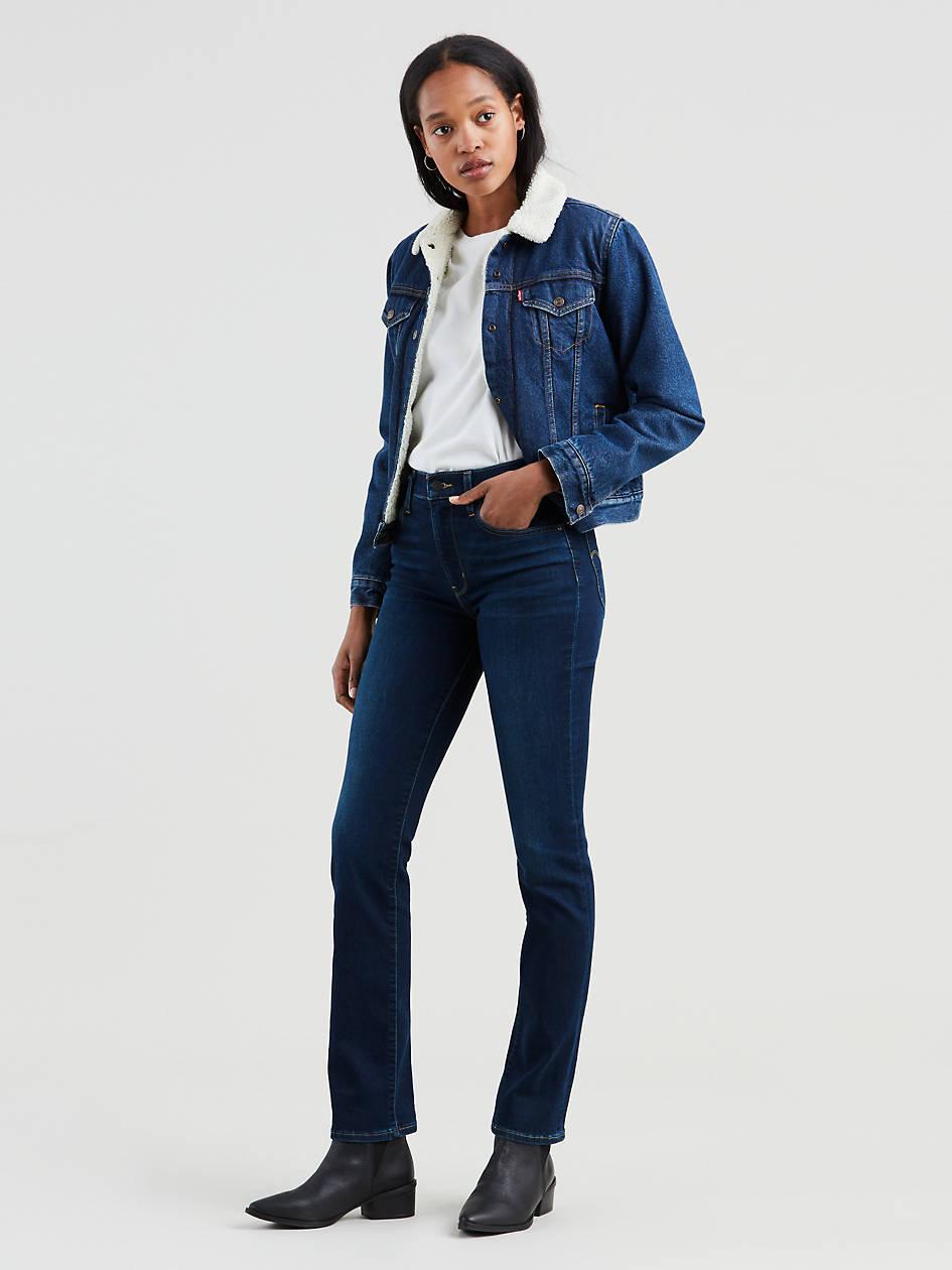 724 High Rise Straight Women's Jeans - Dark Wash   Levi's® US