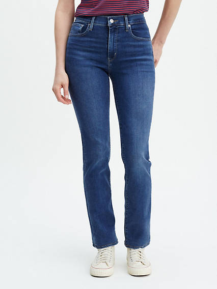 724™ High Waisted Straight Jeans