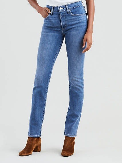 724 High Waisted Straight Jeans