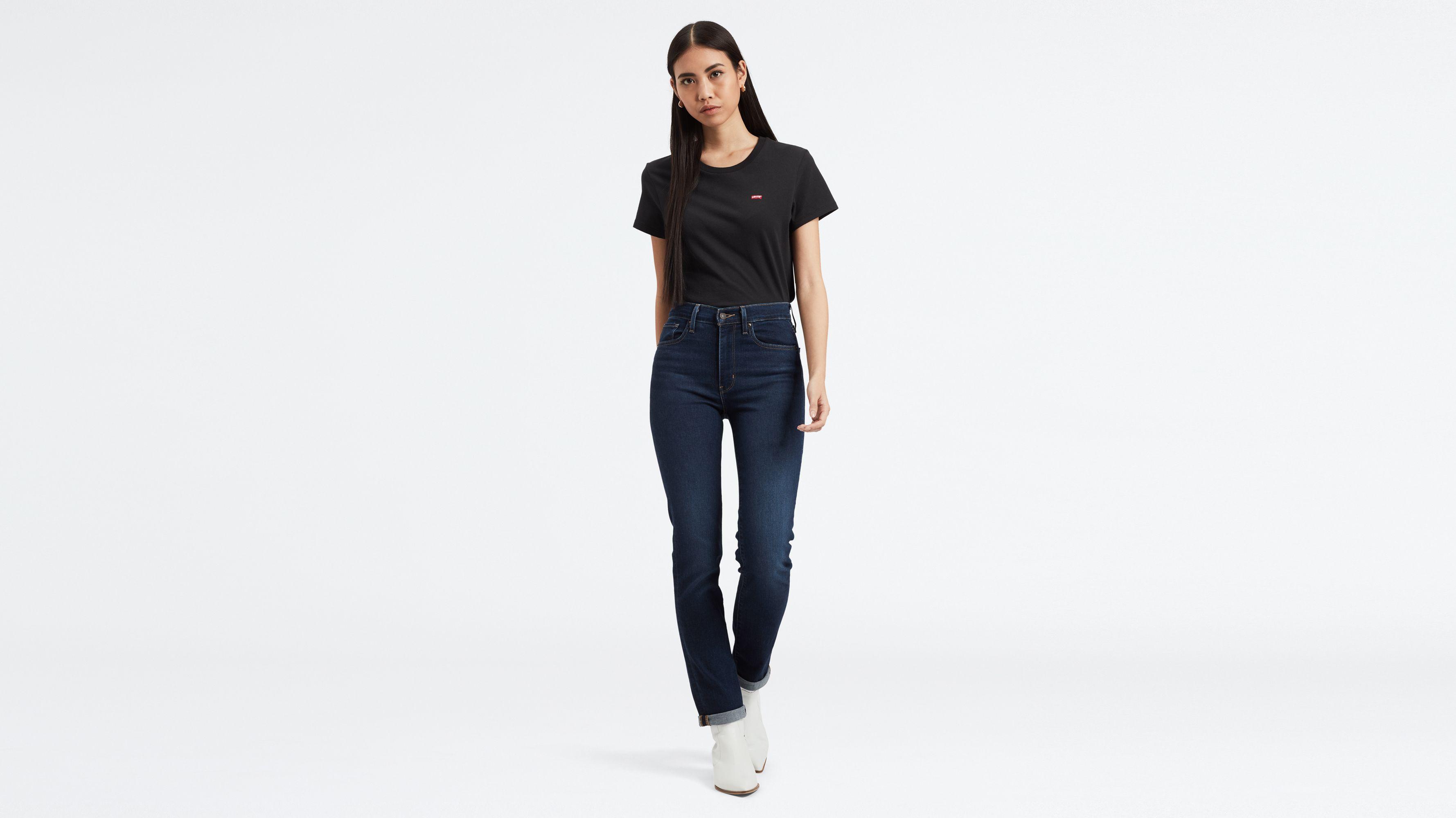 Open-Minded Mens Blue Denim Jeans Tight Leg Denim Co 34 Waist 33 Leg Button Fly Jeans Clothes, Shoes & Accessories