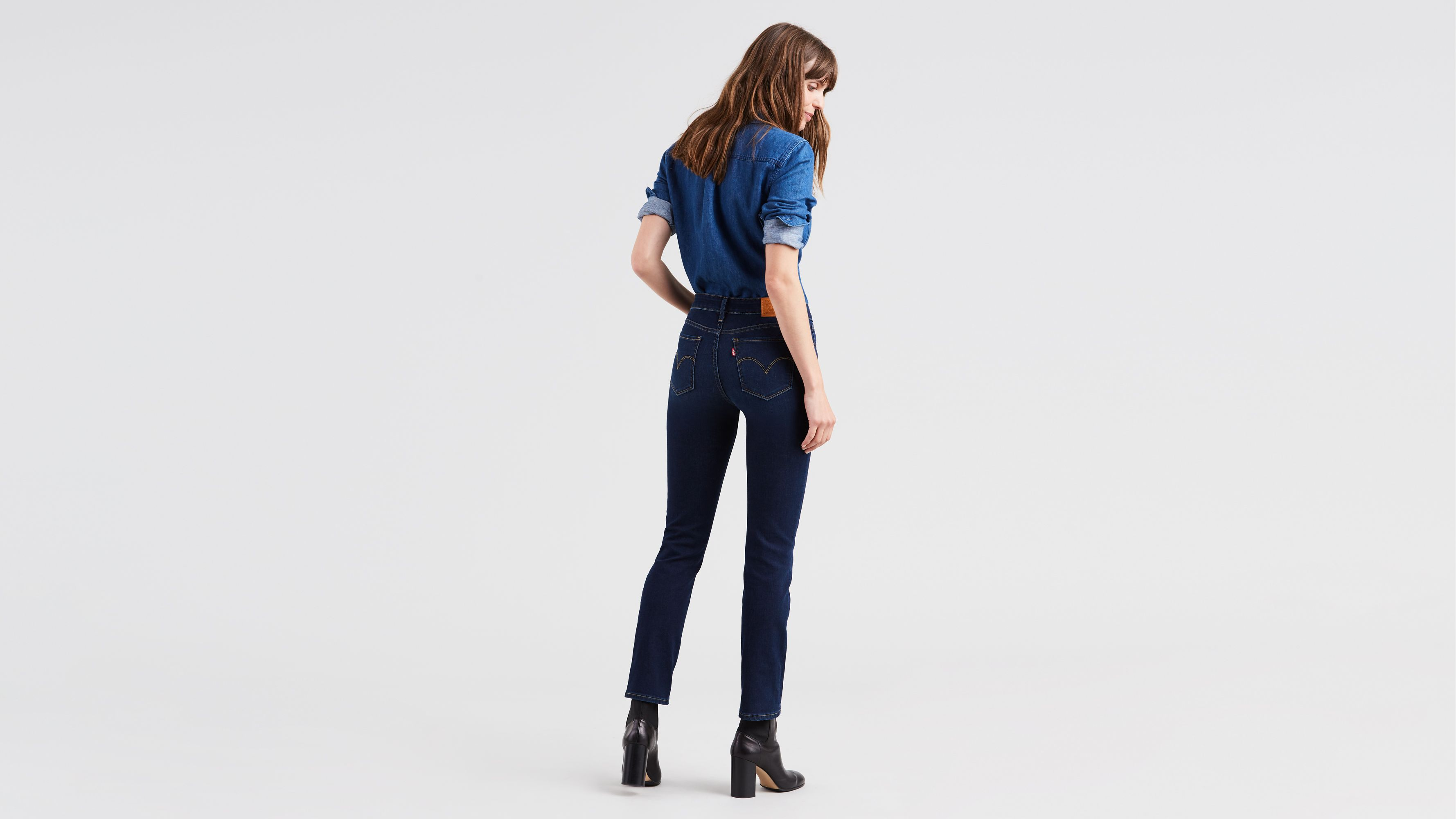 f7473ea9 712™ Slim Jeans - Dark Blue | Levi's® GB