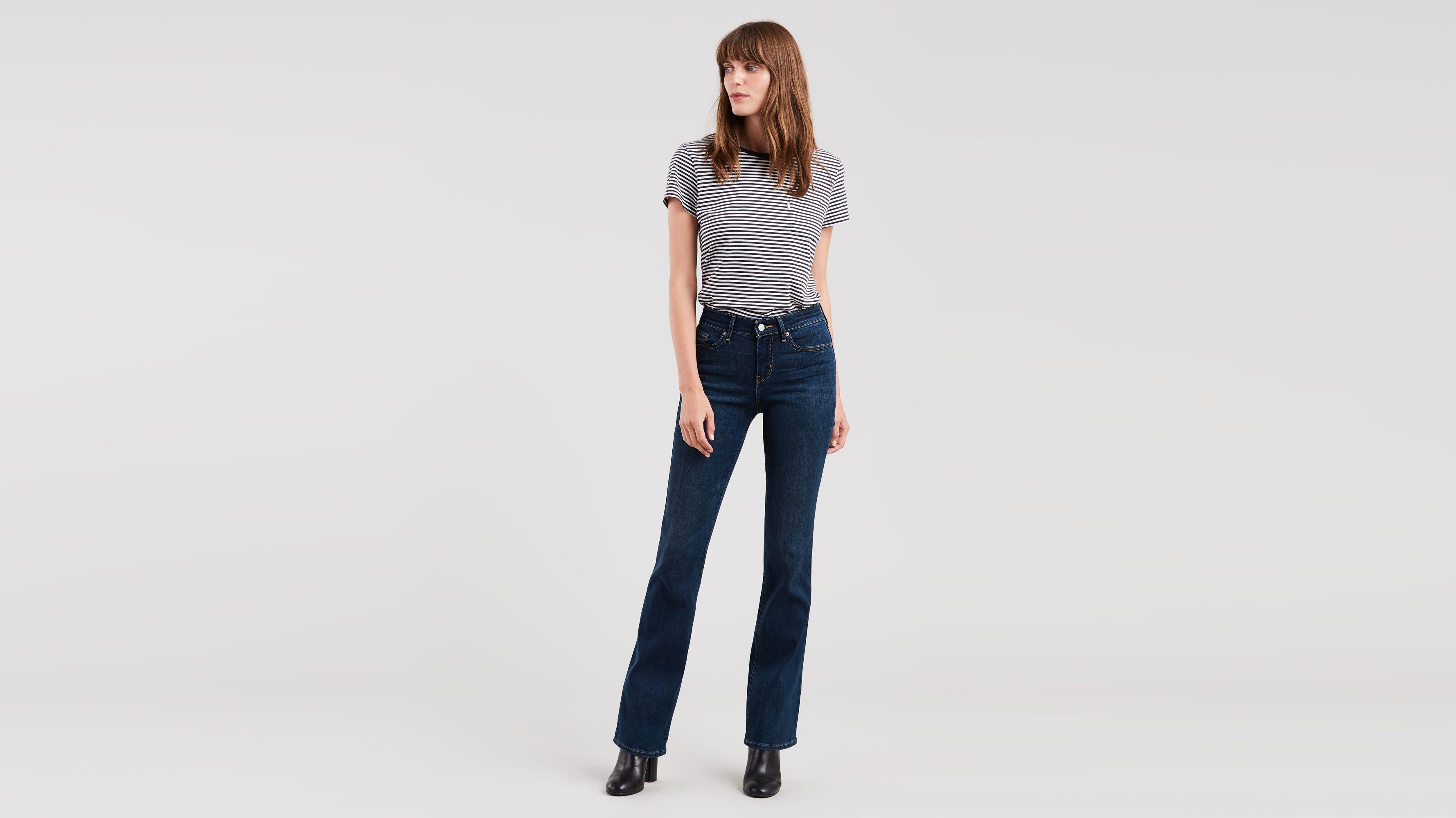 715 Boot Cut Women's Jeans Dark Wash | Levi's® US