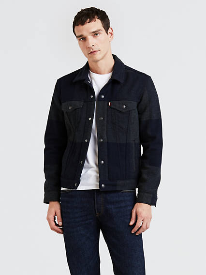 Wool Trucker Jacket Jacket
