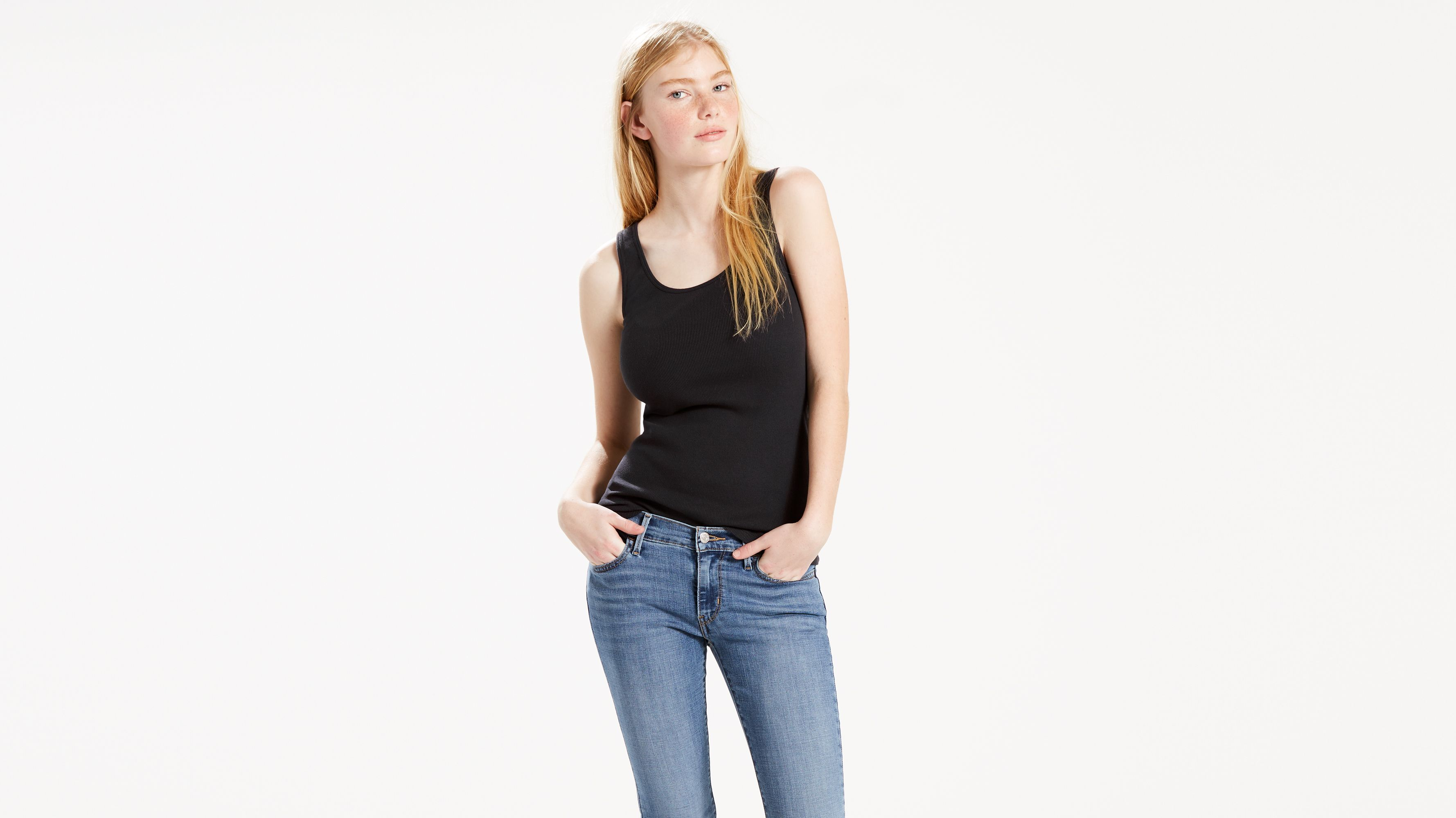 Classic Ribbed Tank Top