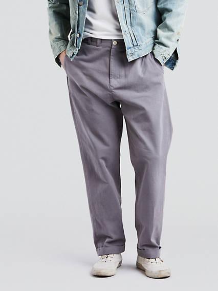 Tab Twill Trousers