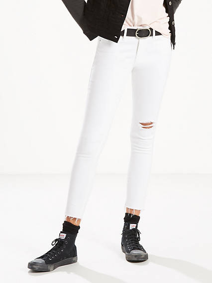 d5a3716ee9ea Women's White & Off-White Skinny Jeans | Levi's® US