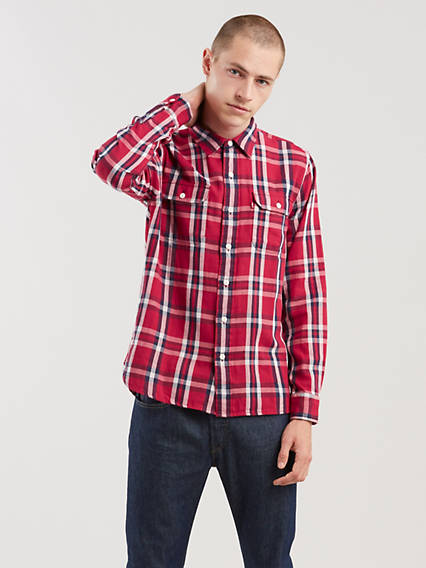 ClaShort Sleeveic Worker Shirt