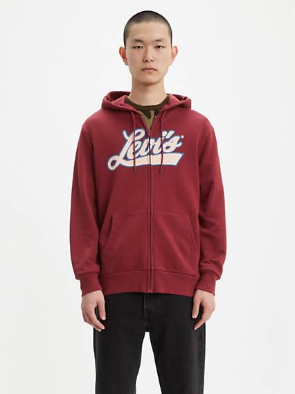Levi's® Script Zip Up Hoodie