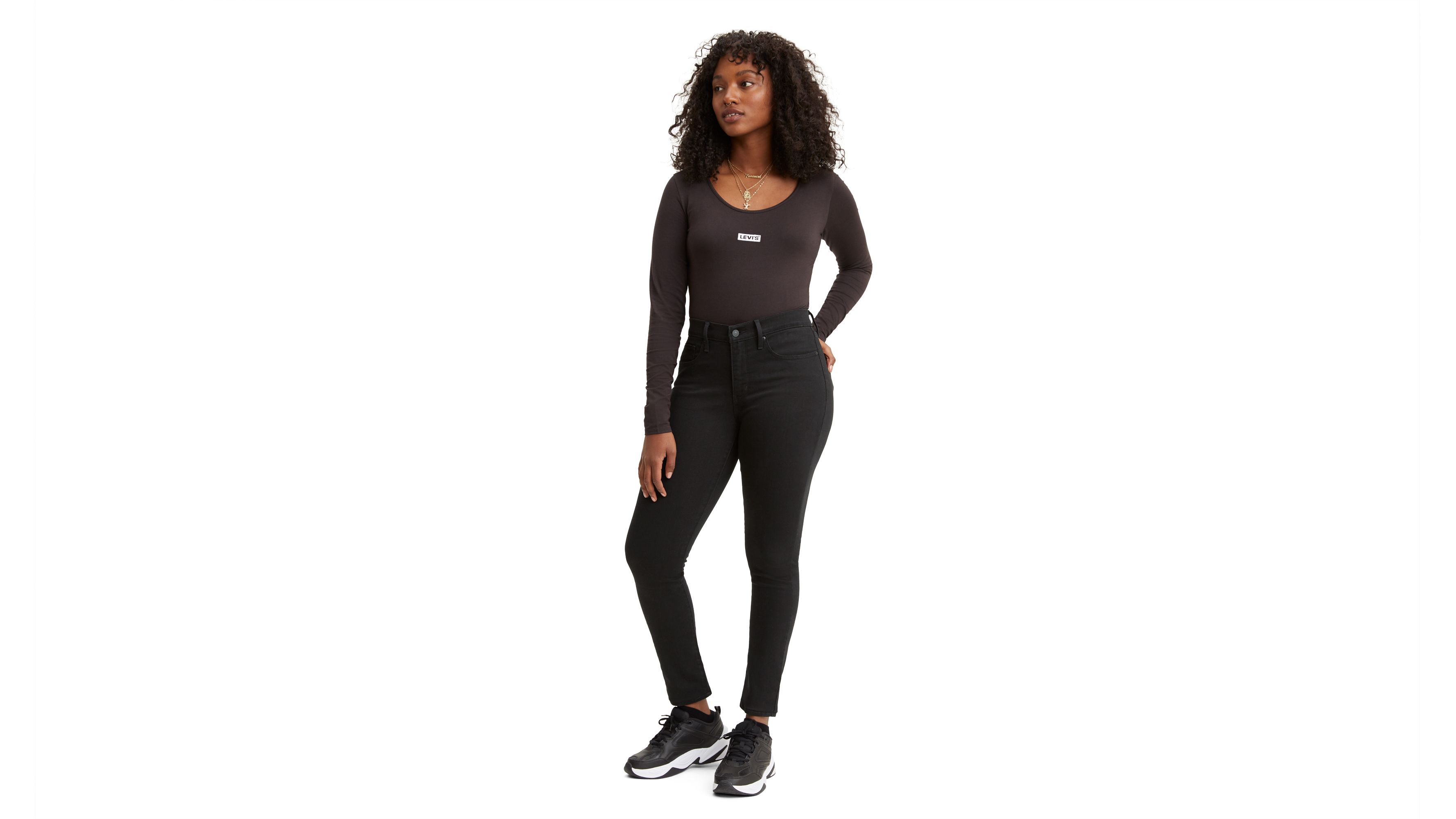 JeansLevi's® Black Jeans Women RippedSkinnyamp; for High US Waisted QrdxthCs