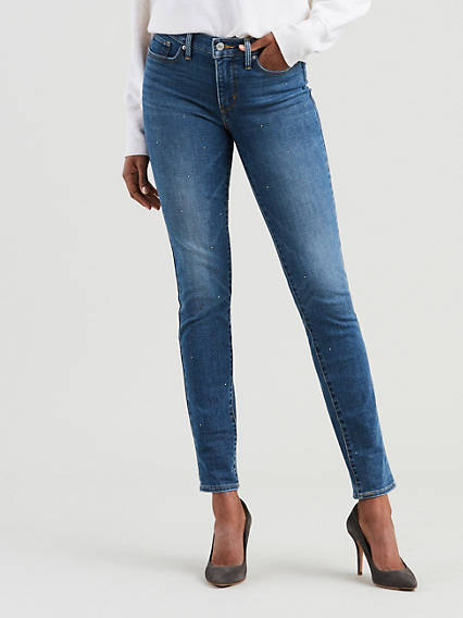 311 Shaping Skinny Studded Jeans