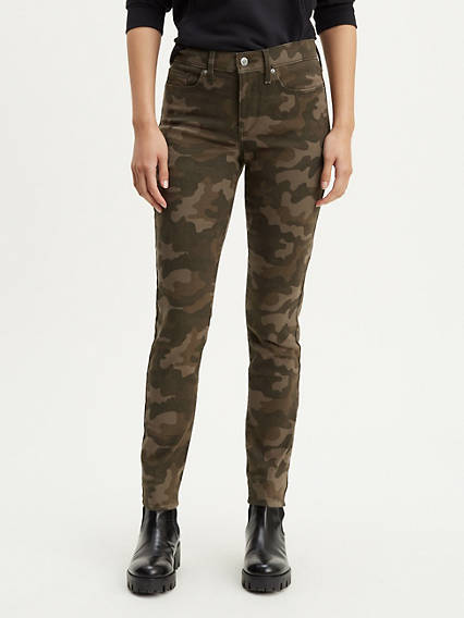 311 Shaping Skinny Camo Women's Jeans