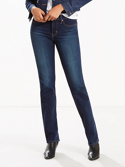 314 Shaping Straight Stretch Jeans