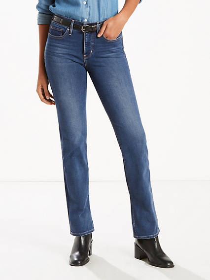 314™ Shaping Straight Stretch Jeans
