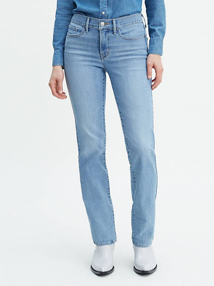 090d720fa9c7 Women's Light Wash Jeans - Ripped, Skinny High Rise & More | Levi's® US