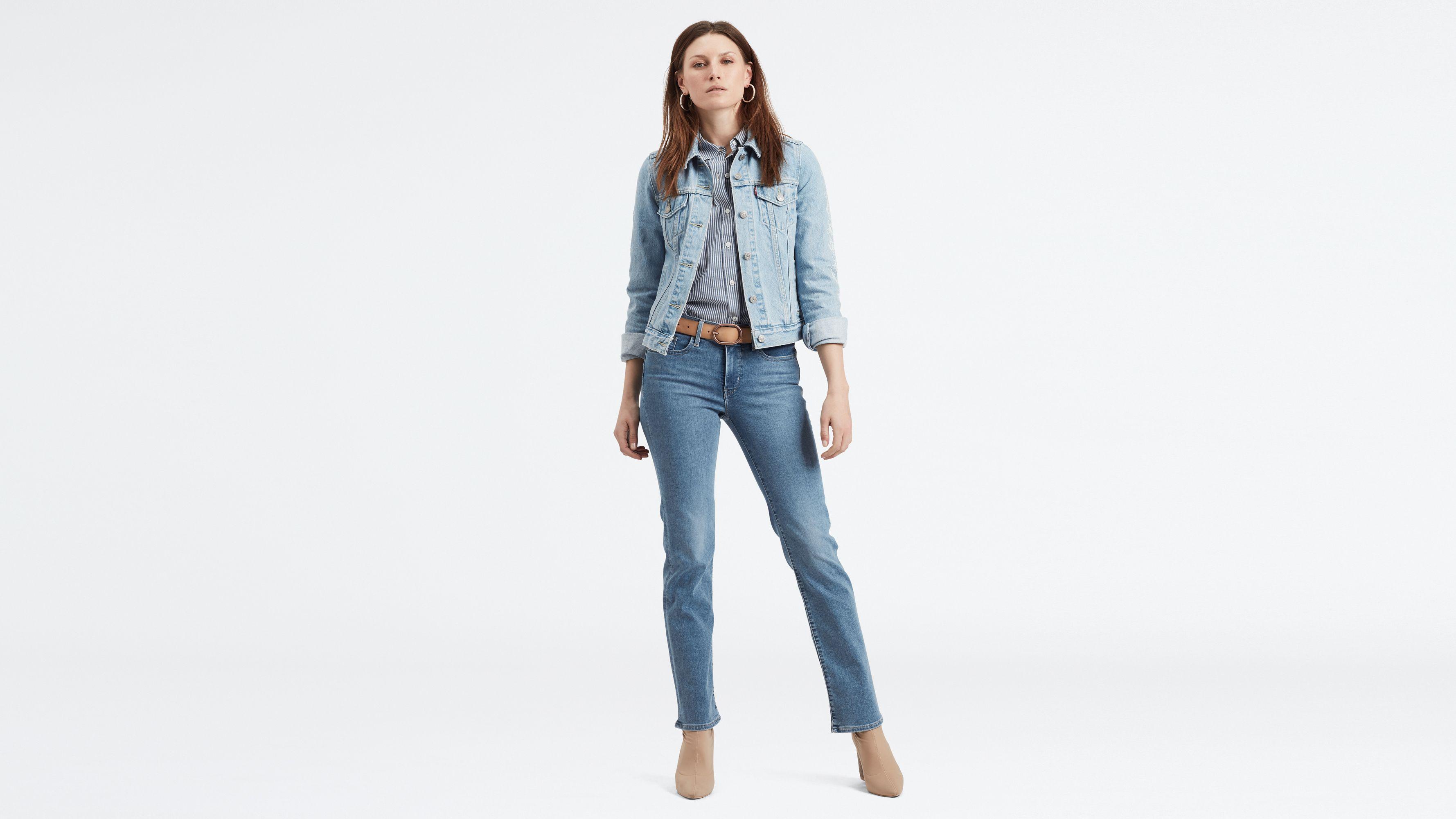 Jeans Demi Femme Straight Levis Curve sChtrQd