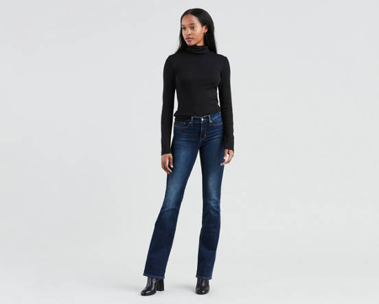 7a512400 Use + and - keys to zoom in and out, arrow keys move the zoomed portion of  the image. Mouse over image for a closer look. 315™ Shaping Bootcut Jeans  ...